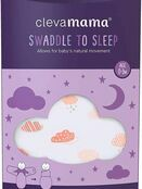 Clevamama Swaddle to Sleep 0-3 mths - Choose your Colour additional 10