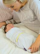 Clevamama Swaddle to Sleep 0-3 mths - Choose your Colour additional 12