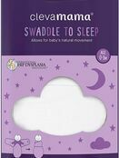 Clevamama Swaddle to Sleep 0-3 mths - Choose your Colour additional 20