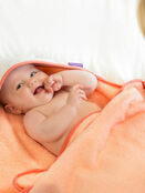 Clevamama Bamboo Apron Baby Bath Hooded Towel - Choose your Design additional 1