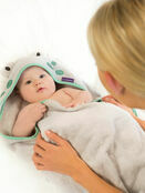 Clevamama Bamboo Apron Baby Bath Hooded Towel - Choose your Design additional 18