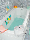 Clevamama Bamboo Apron Baby Bath Hooded Towel - Choose your Design additional 30