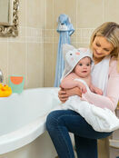 Clevamama Bamboo Apron Baby Bath Hooded Towel - Choose your Design additional 34