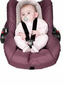 Clevamama ClevaFoam Head and Neck Support - Car Seat and Pram Insert (+0 Months) Grey additional 3