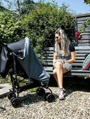 Red Kite Universal Stroller Sunshade UPF50+ protection additional 7