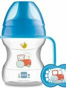 MAM Learn to Drink Cup 190ml with Handles and Soother additional 1