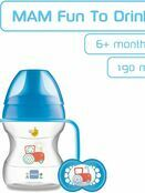 MAM Learn to Drink Cup 190ml with Handles and Soother additional 6