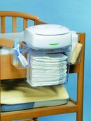 Prince Lionheart Nappy Depot - Hanging Nappy Caddy - Clear additional 5