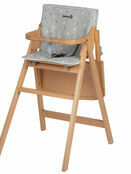 Safety 1st Comfort Cushion for Nordik Basic Wooden Highchair - Choose your design additional 6