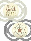 MAM Perfect Night Soother 2 Pack 6+ months - Sweet Dreams additional 1