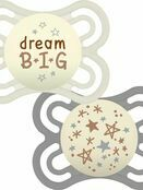MAM Perfect Night Soother 2 Pack 0+ mths - Sweet dreams - Choose your design additional 3