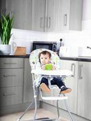 Red Kite Feed Me Compact Folding Highchair - Peppermint Trail additional 4