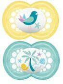 MAM Original Soother 6mths + 2 Pack - Choose your designs additional 5