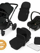 Ickle Bubba Stomp V2 All-in-One Travel System - Black With Black Frame additional 1