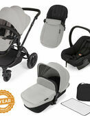 Ickle Bubba StompV2 All-in-One Travel System - Silver With Black Frame additional 1