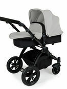 Ickle Bubba StompV2 All-in-One Travel System - Silver With Black Frame additional 3