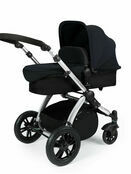 Ickle Bubba Stomp V2 All-in-One Travel System - Black With Silver Frame additional 2