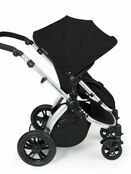 Ickle Bubba Stomp V2 All-in-One Travel System - Black With Silver Frame additional 5