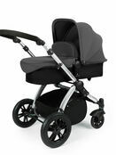 Ickle Bubba Stomp V2 All-in-One Travel System - Graphite Grey With Silver Frame additional 4