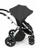 Ickle Bubba Stomp V2 All-in-One Travel System - Graphite Grey With Silver Frame additional 8