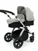 Ickle Bubba StompV2 All-in-One Travel System - Silver With Silver Frame additional 3
