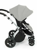 Ickle Bubba StompV2 All-in-One Travel System - Silver With Silver Frame additional 6