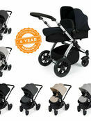 Ickle Bubba Stomp V2 All-In-One Travel System - Pushchair, Carrycot, Car Seat & Accessories additional 1