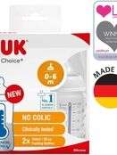 NUK First Choice+ Temperature Control 150ml Baby Bottle - 2 Pack additional 1