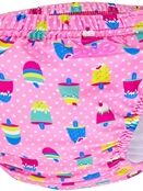 Zoggs Adjustable Swim Nappy Pink Ice Creams 3-24 Months additional 1