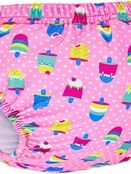 Zoggs Adjustable Swim Nappy Pink Ice Creams 3-24 Months additional 2