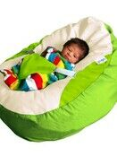 GaGa Lime Green Baby Bean Bag with Safety Harness additional 3