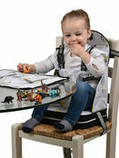 Polar Gear 5 Point Harness Booster Seat + Place Mat - Hot Air Balloons additional 1
