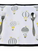 Polar Gear 5 Point Harness Booster Seat + Place Mat - Hot Air Balloons additional 7