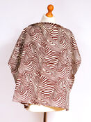 Palm & Pond Breastfeeding Cover With Boning  - Brown Zebra Large additional 1