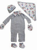 Palm and Pond Gift Set - Animal Grey additional 1