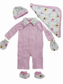 Palm and Pond Gift Set - Elephant Pink additional 1