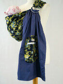 Ring Sling - Blue Flowers additional 1