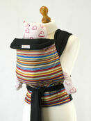Palm & Pond Mei Tai Baby Sling - Stripey additional 1