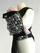 Palm & Pond Mei Tai baby carrier - Black and White Vintage additional 1