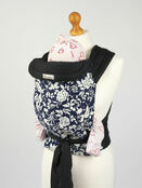 Palm & Pond Mei Tai Baby Sling – Blue & White Floral additional 1