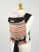 Palm & Pond Mei Tai Baby Sling with Coloured Stripes Design additional 1