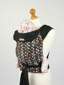 Bright Multi Coloured Spots Mei Tai Soft Baby Sling additional 1