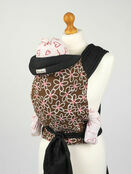 Palm and Pond Mei Tai Baby Sling - Brown & White Floral additional 1
