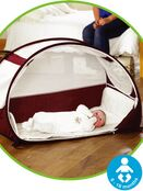Koo-Di Pop-Up Bubble Travel Cot - Aubergine additional 1