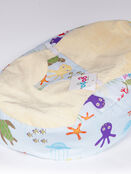 GaGa Pre-filled Baby Bean Bag With Luxury Cuddlesoft Seat - Under the Sea Design additional 1