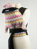 Palm & Pond Mei Tai Baby carrier - Pastel Zigzag additional 1