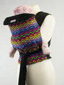 Palm & Pond Mei Tai baby carrier - Bright Zigzag additional 1
