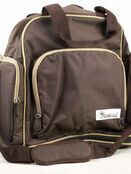 Palm and Pond Changing Back Pack Chocolate additional 1