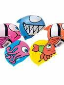 Kids Character Swimming Cap 6-14 years - Choose your design additional 1