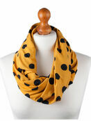 Palm and Pond Nursing Scarf - Yellow with Black Spots additional 1